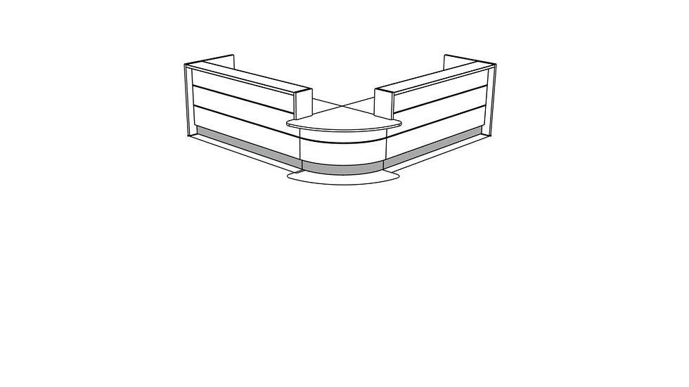 VALDE Reception Desk LAV109L