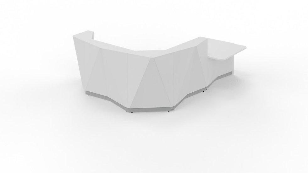 "ALPA Reception Desk ALP23L -  123 3/8"""