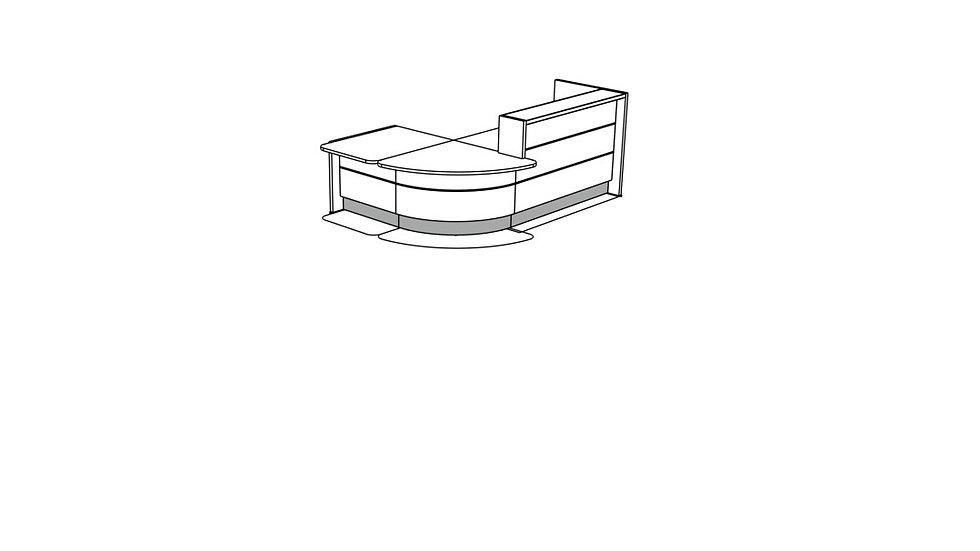 VALDE Reception Desk LAV1121L
