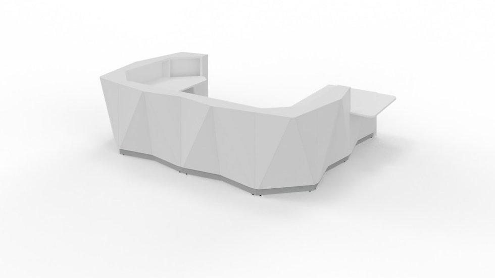"ALPA Reception Desk ALP27L -  160 2/8"""