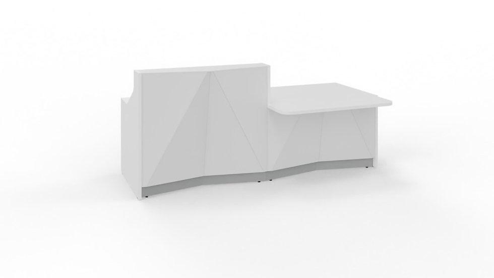 "ALPA Reception Desk ALP21L - 96 6/8"""