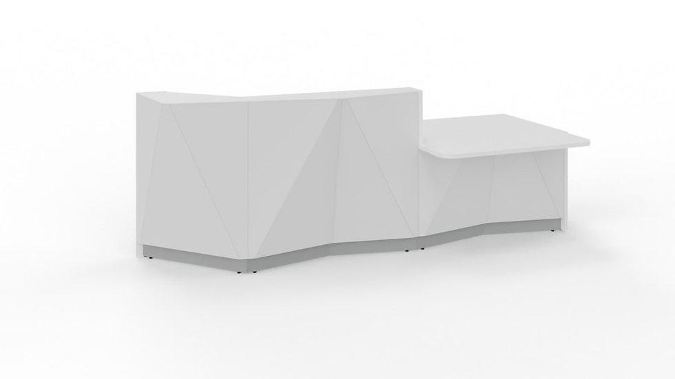 "ALPA Reception Desk ALP22L - 119 4/8"""