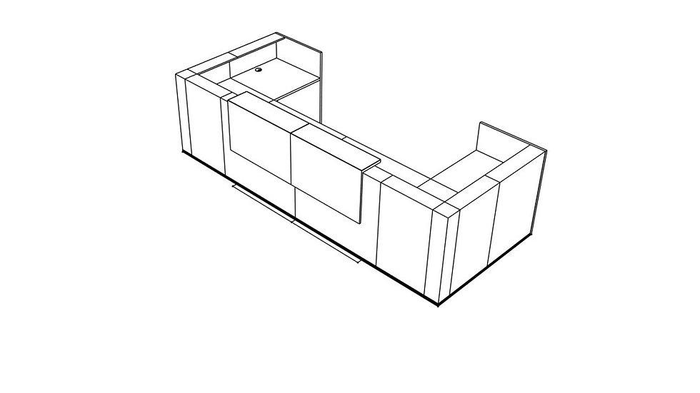 TERA Reception Desk TRA31