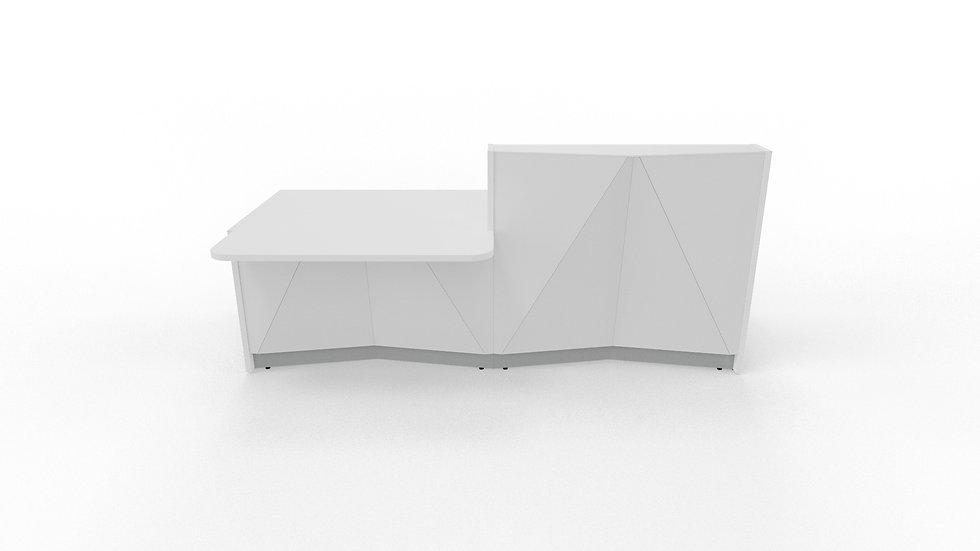 """ALPA Reception Desk ALP21P - 96 3/4"""" Length"""