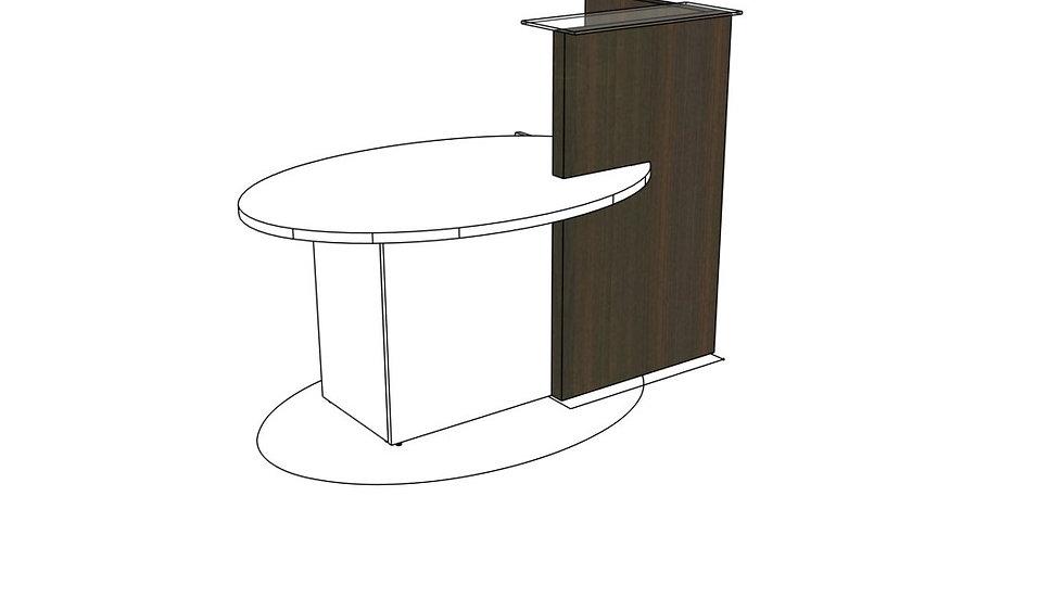 """OVO Reception Desk LOP10 - 61"""""""