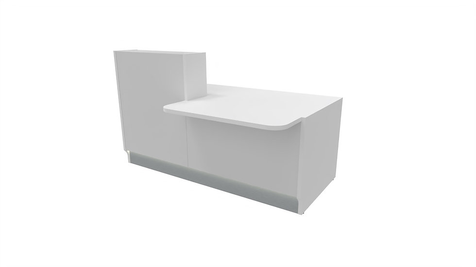 "LINEA Reception Desk LIN33L -  73 1/8"" Length"
