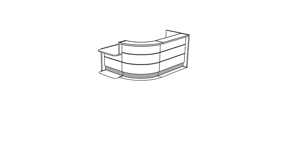 VALDE Reception Desk LAV1401L
