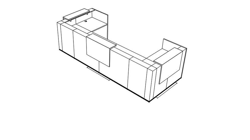 TERA Reception Desk TRA131
