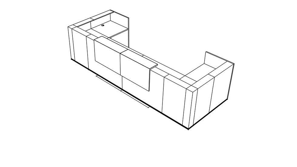 TERA Reception Desk TRA32