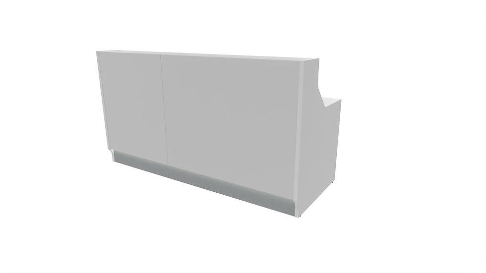 "LINEA Reception Desk LIN20 -  80 8/8"" Length"