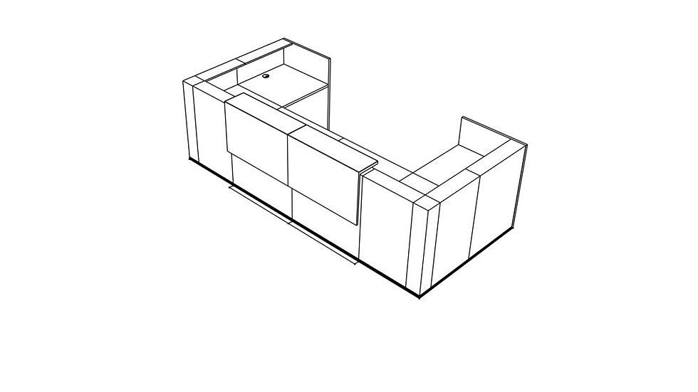 TERA Reception Desk TRA30