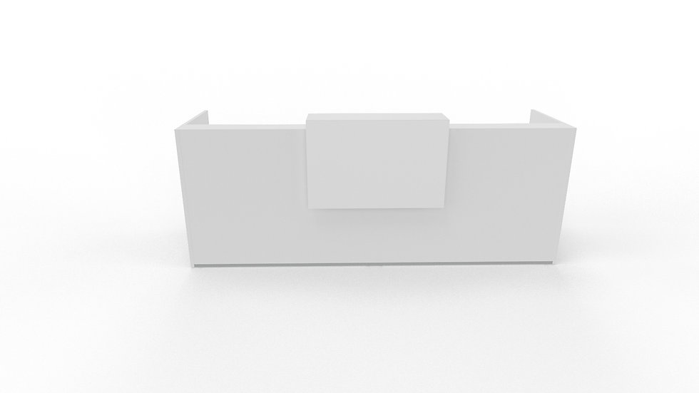 """TERA Reception Desk TRA20 - 112 1/2"""" Length"""