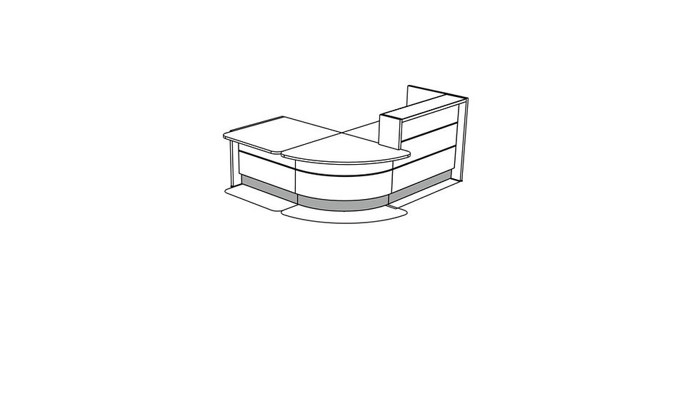 VALDE Reception Desk LAV110L