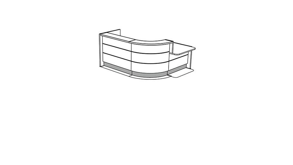 VALDE Reception Desk LAV141L
