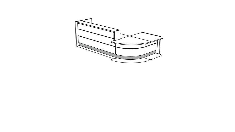 VALDE Reception Desk LAV1151L