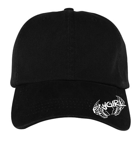 FLY GIRL DAD CAPS BLACK