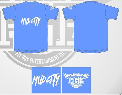 """Carolina Blue """"Mud City"""" T Shirt"""