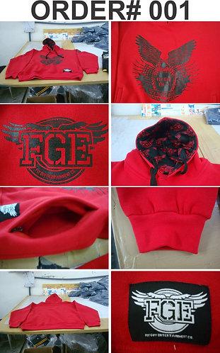 FGE RED HOODY