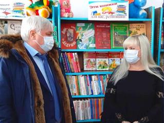Библиотеки сел Безымянное, Красный Яр и Придорожное получили наборы детской литературы