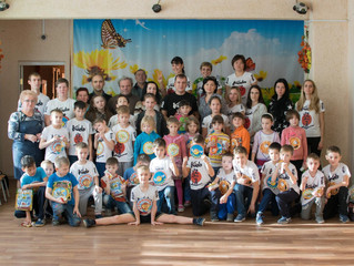 """Воспитанников центра """"Надежда"""" поздравили с Международным днем ребенка"""