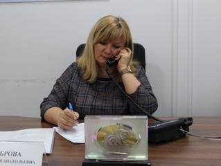 Анастасия Реброва провела дистанционный прием граждан