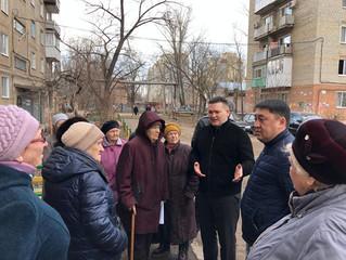 Депутат помог отремонтировать придомовую территорию на своём избирательном округе