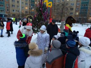 В Энгельсе в преддверии Нового года проходят Праздники двора