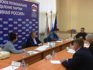 Секретарь Энгельсского местного отделения партии Сергей Горевский добровольно сложил свои полномочия