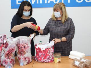 Анастасия Реброва посетила пожилых людей