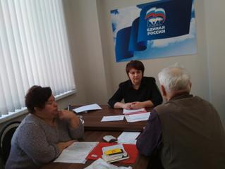 В Энгельсской приемной состоялся тематический прием по вопросам социальной поддержки населения