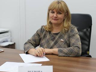 Депутат Саратовской областной Думы Анастасия Реброва провела дистанционный прием граждан
