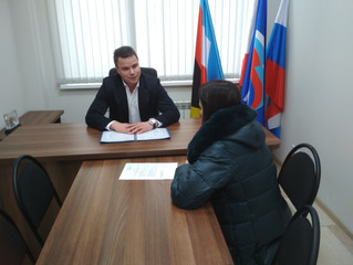 Координатор проекта «Народный контроль» встретился с жителями Энгельсского района
