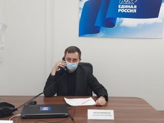 Координатор проекта «Единая страна – доступная среда» Андрей Церковников провел прием граждан