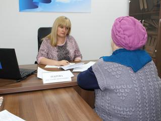 Депутат Саратовской областной Думы Анастасия Реброва (фракция «Единая Россия») провела прием граждан