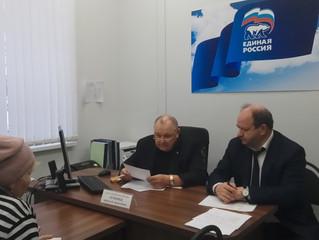 Депутат Николай Семенец провел личный прием граждан