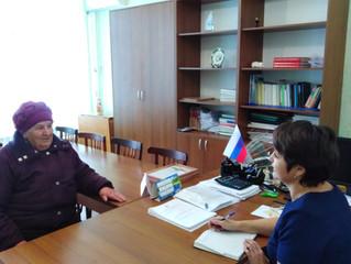 Глава Терновского муниципального образования провела личный прием граждан в рамках недели приемов
