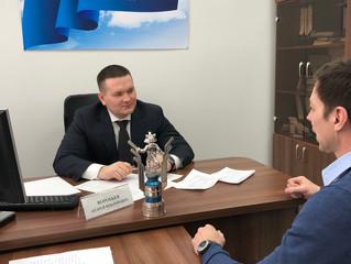 Андрей Воробьев провел личный прием граждан