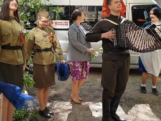 Праздник Победы в каждый двор! В Энгельсе поздравили ветеранов Великой Отечественной Войны