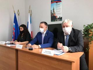 В Энгельсском МОП представили исполняющего полномочия секретаря