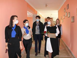 Анастасия Реброва побывала с рабочим визитом в селе Узморье
