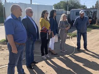 В рамках партийного проекта «Новая школа» в Энгельсе состоялся выездной мониторинг строительства дош