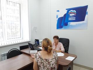 Прием граждан заместителем руководителя Общественной приемной Губернатора Саратовской области по Энг