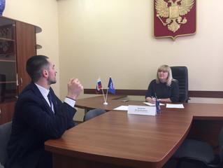 В региональной общественной приемной Председателя партии «Единая Россия» Дмитрия Медведева прием гра
