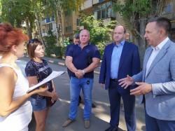 Сергей Горевский и Олег Алексеев встретились с жителями города и обсудили вопросы формирования совре