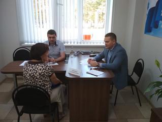 В Общественной приемной депутат Саратовской областной Думы Андрей Воробьев провел личный прием гражд