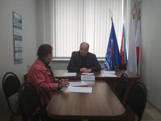 Сергей Горевский провел личный прием граждан