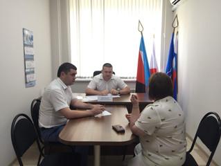 Депутат Саратовской областной Думы Андрей Воробьев провел личный прием граждан
