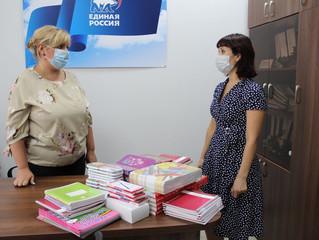 В Общественной приемной Энгельсского местного отделения Партии продолжается благотворительная Акция