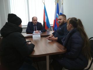 Сергей Горевский провел личный прием граждан в рамках декады приемов