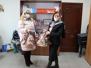 Анастасия Реброва поздравила детей с наступающим Новым годом